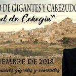 El II Encuentro de Gigantes y Cabezudos 'Ciudad de Cehegín' reunirá comparsas de toda España el 8 de septiembre