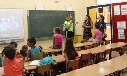 La Escuela de Verano acoge a más de un centenar de niños y niñas en el Colegio Conde de Campillos