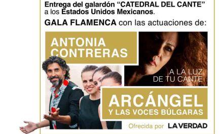 Antonio Contreras y Arcángel vuelven a pisar el escenario del Festival Internacional de Las Minas