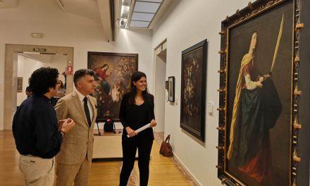 El Mubam exhibe la obra de Zurbarán 'El milagro de Santa Casilda' en su ciclo 'Grandes maestros'