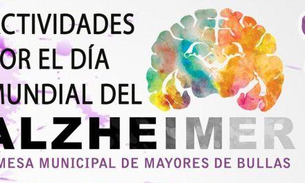 Actividades en Bullas por el Día Mundial del Alzheimer