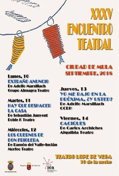 Encuentro Teatral Ciudad de Mula