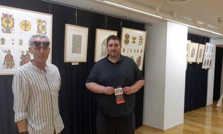 El artista Ramón Rubio González expone en Caravaca 'Miradas sobre la Catedral de Murcia'