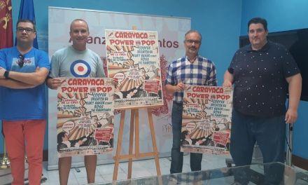 'Caravaca Power Pop' se celebra el 13 de octubre con cinco conciertos, presentaciones de libros y pinchadas de vinilos