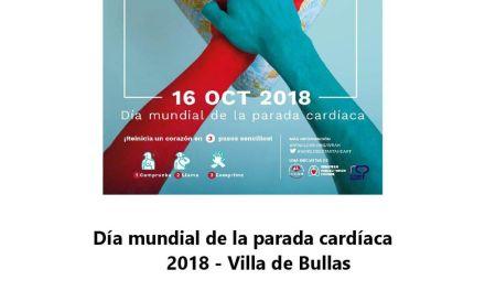 Primera Jornada 'Día Mundial de la Parada Cardiaca 2018 Villa de Bullas'