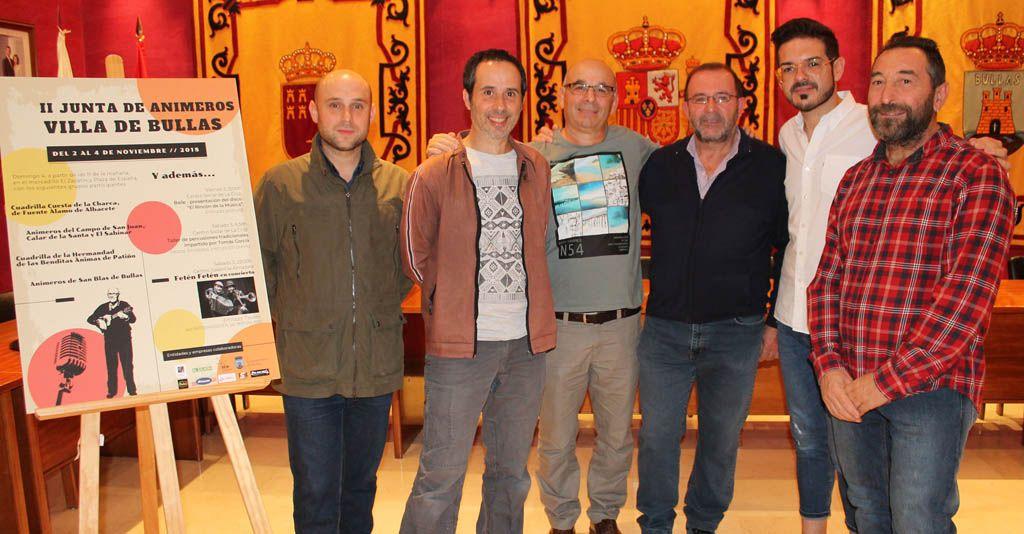 Bullas celebra en noviembre la II Junta de Animeros 'Villa de Bullas'