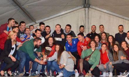 La peña 'El Desmadre', campeones del Campos Joven 2018