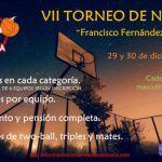 """El VII Torneo de Navidad """"Francisco Fernández Torralba"""" se disputará 29 y 30 de diciembre"""