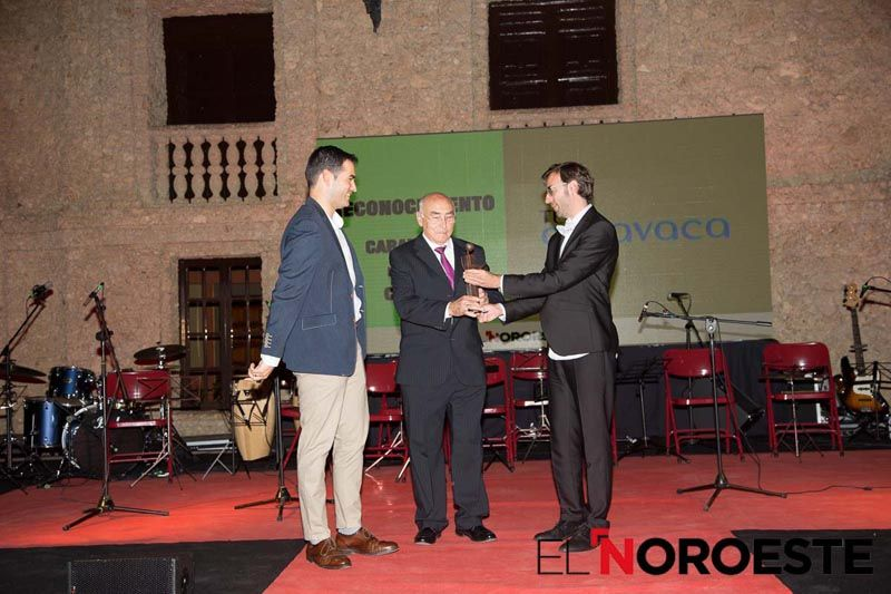 TeleCaravaca recibe uno de los premios de El Noroeste