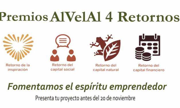 La asociación lanza la primera edición del Premio AlVelAl 4 Retornos