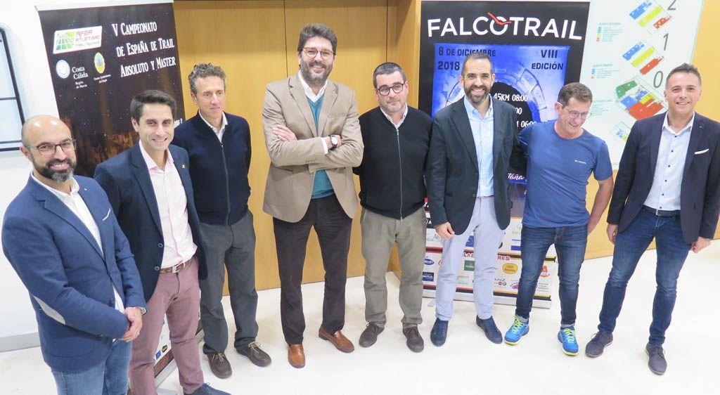 La prueba de montaña Falco Trail reunirá en la Región a unos 1.400 participantes procedentes de toda España