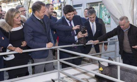 Inaugurada en Lorca la 51ª edición de la Feria Ganadera, Industrial y Agroalimentaria de Lorca, Sepor, con más de 450 firmas comerciales, 90 ponentes y un total de 135 acciones técnicas