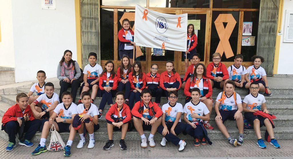 Alumnado de la Cooperativa de Enseñanza Nuestra Señora de las Maravillas de San Vicente de Paúl participa en la carrera solidaria La Vuelta al Cole