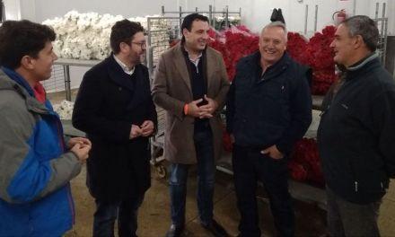 Ciudadanos consigue para Cehegín inversiones para el sector de la flor cortada y mejoras en el colegio Conde de Campillos