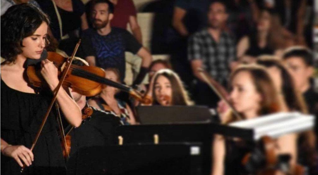 La violinista Ana Morenilla