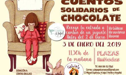 Cuentacuentos solidario el 3 de enero en la Librería Sueños de Papel