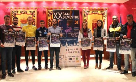 La popular carrera San Silvestre de Bullas celebra su 20 aniversario