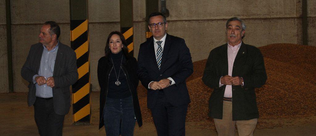 Visita del Delegado del Gobierno a la Cooperativa Frusemur