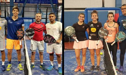 Nuria Vivancos y Pedro Vera cierran el año como números uno de la Región de Murcia