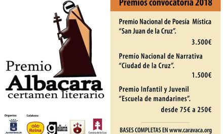 Alta participación en la edición de 2018 de los relanzados 'Premios Albacara', con más de 180 obras presentadas