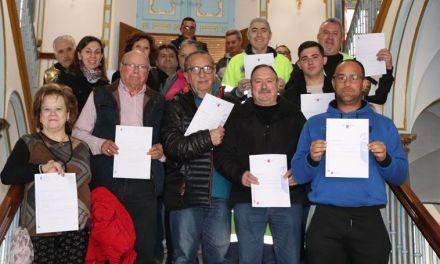 Entregados los diplomas de los cursos promovidos por la Concejalía de Agricultura de Cehegín
