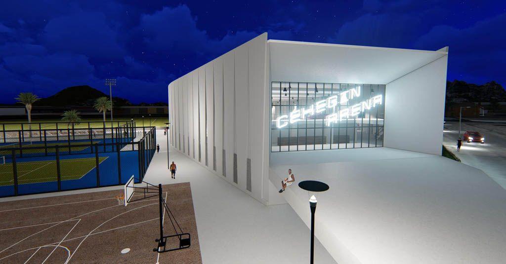 Las obras para la construcción del nuevo pabellón de deportes de El Almarjal salen a concurso público