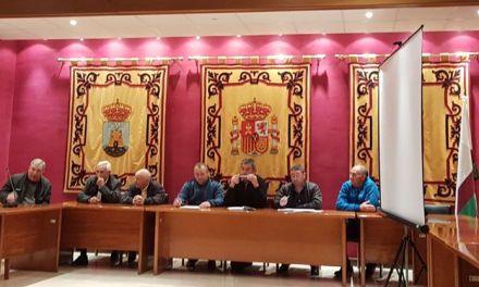 El Concejal de Agricultura de Bullas asiste a la Asamblea Ordinaria de los regantes de Cañada de Los Olmos