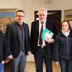"""Reunión con responsables de Bankia y el Delegado del Gobierno para dar solución la situación al polígono de """"Los Alderetes"""""""