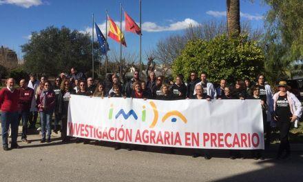 Los trabajadores del IMIDA continúan este 22 de febrero con sus protestas