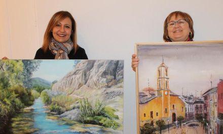 Magdalena Caballero y Mari Cruz Fernández ganan I Concurso de Artistas de Bullas