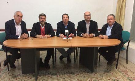 Los socialistas del Río Mula muestran su desacuerdo a los Presupuestos que se destinan a sus municipios