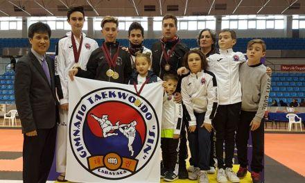 Gimnasio Sin y Escuela de Taekwondo de Moratalla vuelven cargados de medallas del Torneo Open Ciudad de Murcia