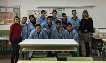 Alumnos del IES Federico Balart premiados en el IIIConcurso de Cristalización