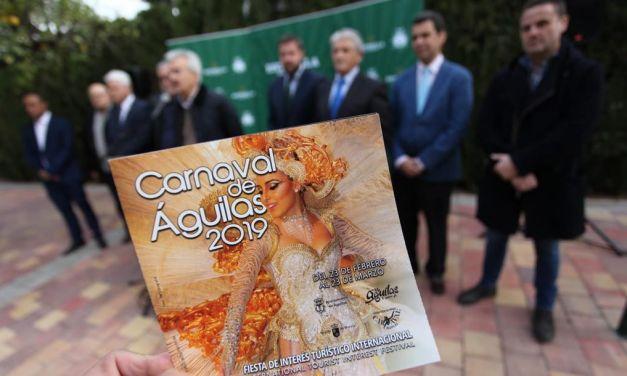 Águilas prepara sus calles y su puerto para el gran desfile de carnaval y la XVIII Regata Trofeo Estrella Levante