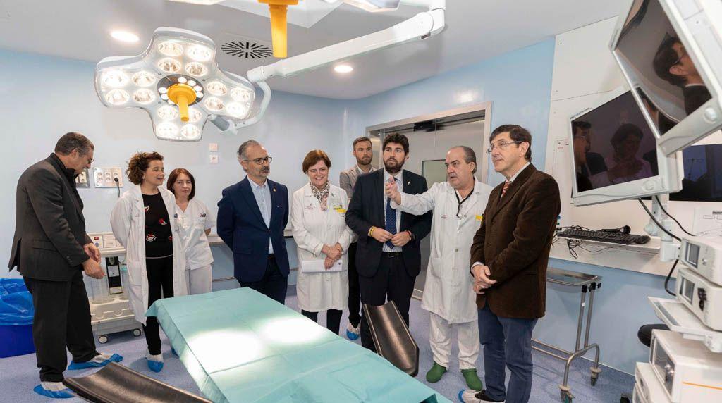 El Hospital Comarcal del Noroeste estrena dos nuevos quirófanos y mejora los cuatro que ya tenía en funcionamiento