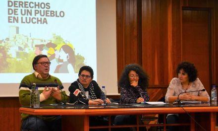 Mesa redonda organizada por Ganar Moratalla IU con el título «Derechos de un pueblo en lucha»