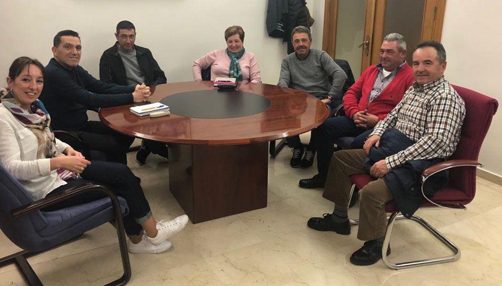 Reunión con la Junta Directiva de la Comunidad de Regantes el Pozo La Rafa- Atalayas