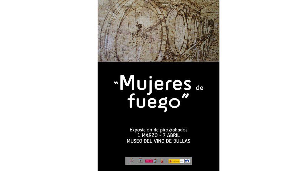 'Mujeres de fuego' es la exposición que inauguran mañana las alumnas del PMEF 'Madera de Bullas' en el Museo del Vino