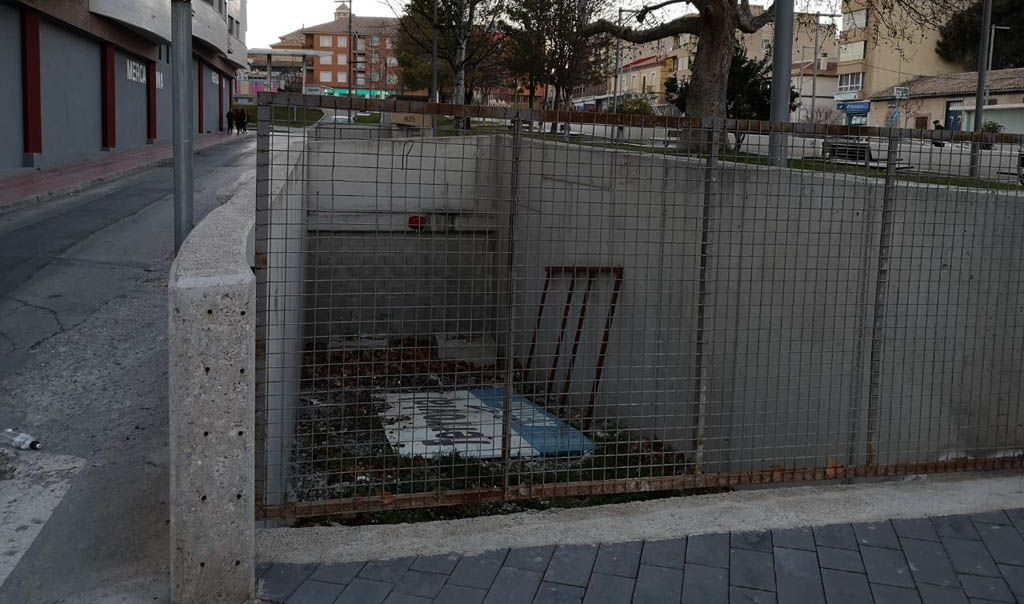 Ciudadanos pide que se le dé uso al aparcamiento subterráneo de Bullas