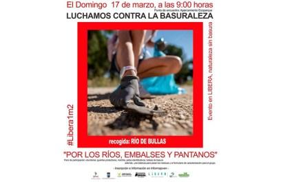 El Ayuntamiento de Bullas se une a una campaña que persigue recoger basura en la naturaleza