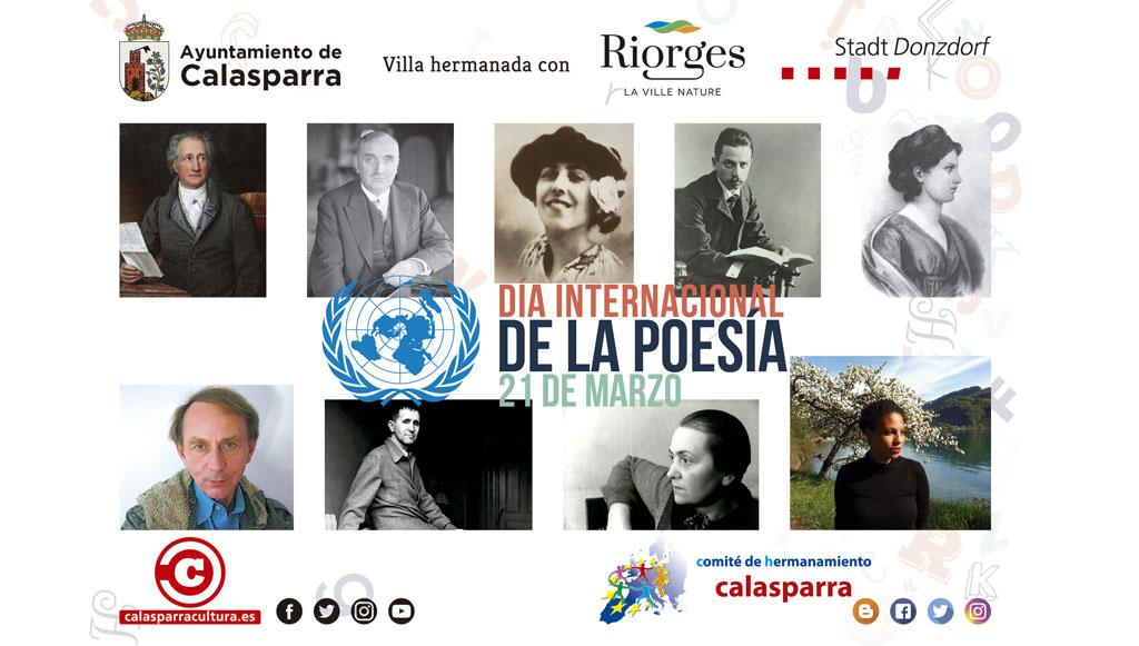 Comité de Hermanamiento de Calasparra y Ayuntamiento se unen para celebrar el Día Internacional de la Poesía