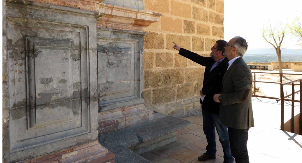 Una inversión de 690.000 euros permitirá la rehabilitación de la fachada y cubiertas de la Basílica de la Vera Cruz