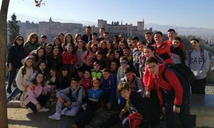 Unos días increíbles en Granada y Sierra Nevada para el alumnado de La Consolación