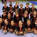 Exhibición de primavera de las escuelas de baile y gimnasia rítmica
