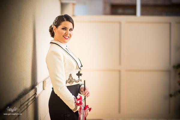 Carmen María Jorquera el día de su presentación (Foto García)