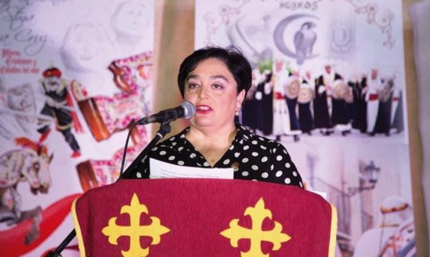 """""""En Caravaca Moros y Cristianos no nos disfrazamos, nos vestimos"""", Loli Sánchez Carreño, presidenta del Bando Moro"""