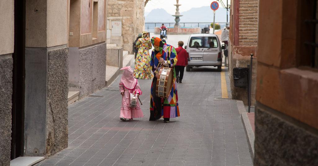 Los tambores en Las Torres