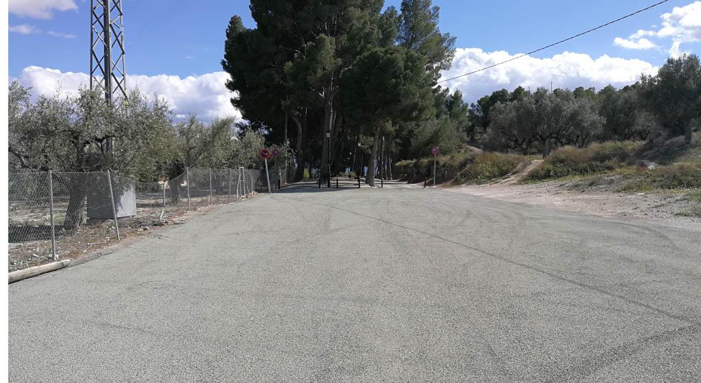Mejoras de pavimentación en caminos rurales de Mula