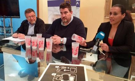 Caravaca introduce en sus fiestas patronales los vasos reutilizables en las barras licitadas por el Ayuntamiento