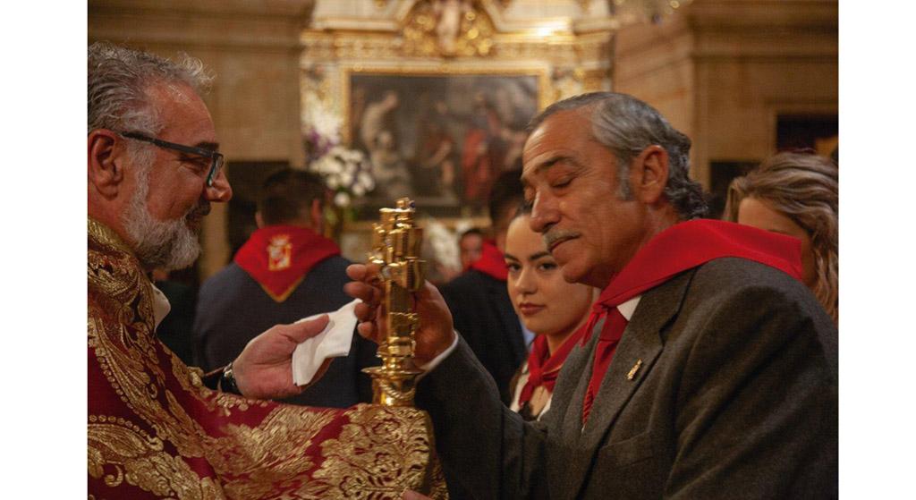 «Hay que escuchar el pregón para saber por qué he elegido el Templete», Pedro Guerrero Quadrado, pregonero 2019
